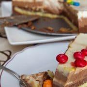 Tarta a los tres chocolates 12