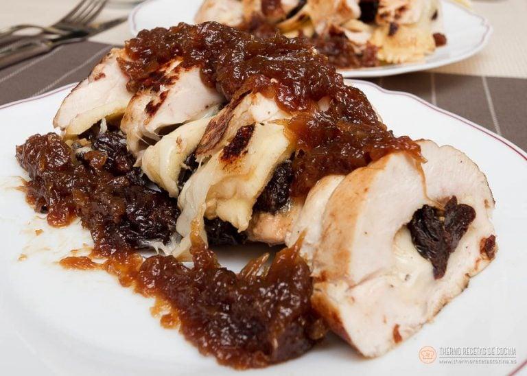 Pechuga de pollo rellena 2