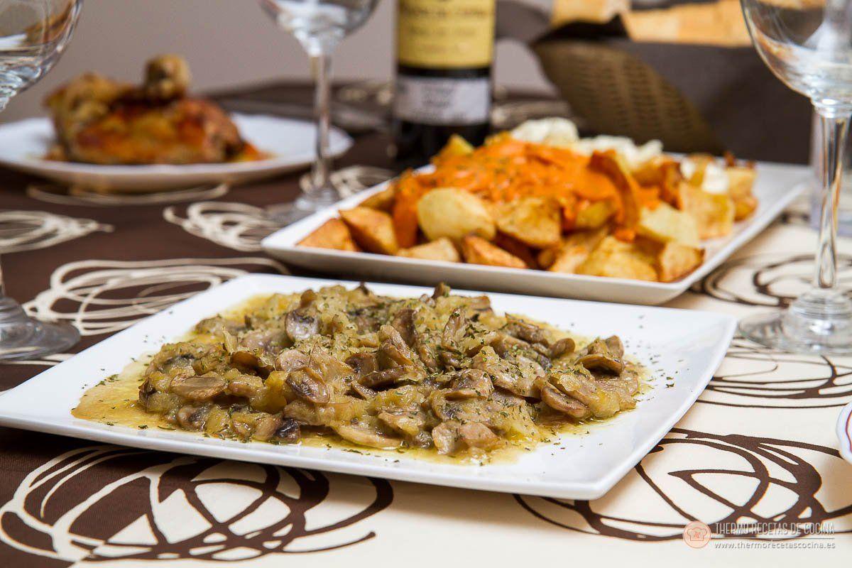 Recetas De Cocina Con Champiñones   Tapa De Champinones En Recetas De Cocina Para Thermomix