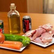 Pollo a la coca-cola 3