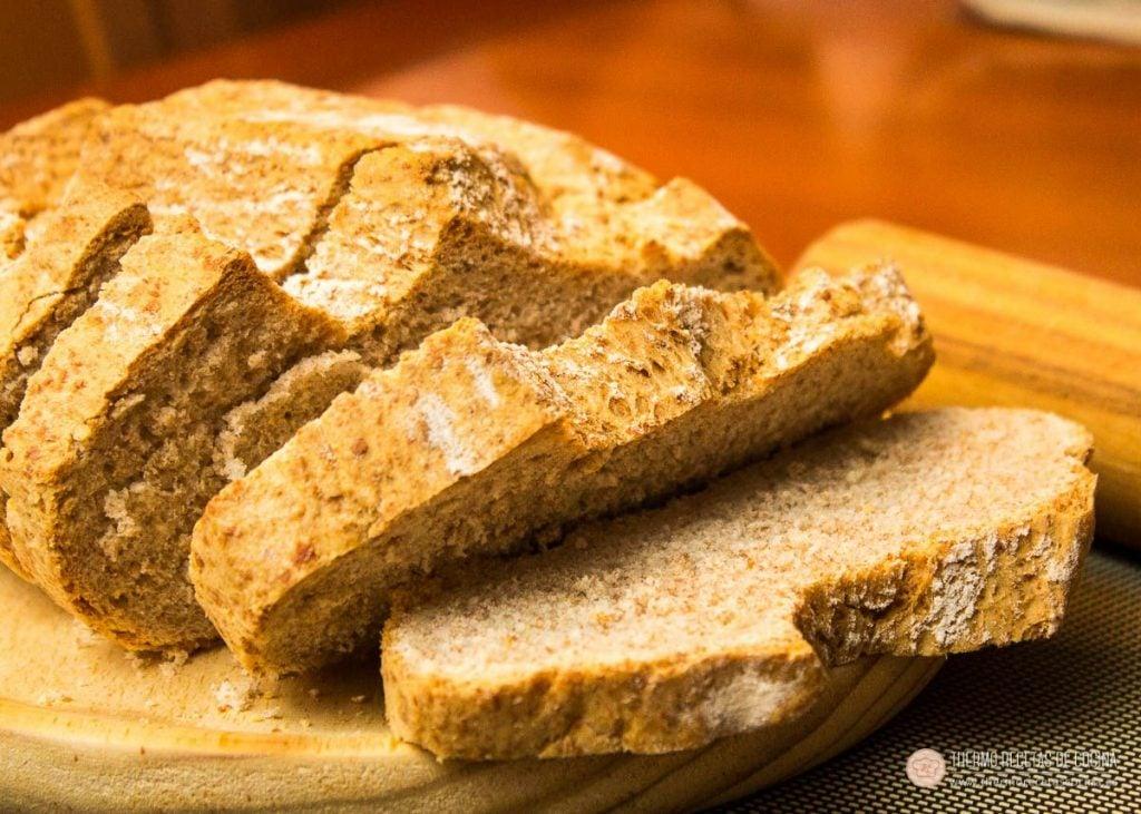 Pan de Espelta, rápido, sano y ligero 16