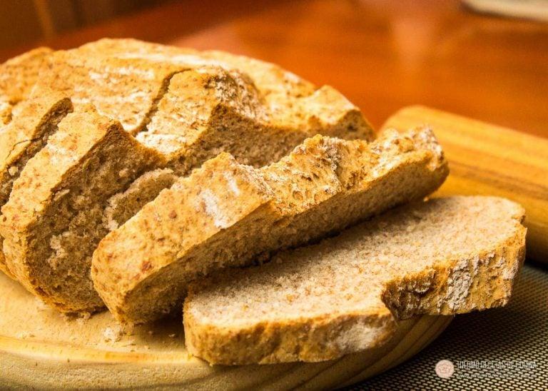 Pan de Espelta, rápido, sano y ligero 1