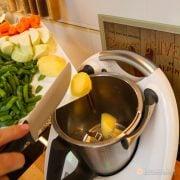 Receta para bebes: Primera papilla de verdura y pollo con Thermomix, para 6 meses 3