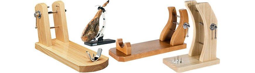jamoneros-acero-madera